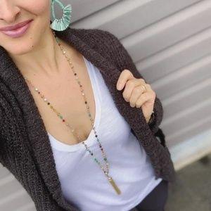 :: S&D [V] Multicolor Gitane Tassel Necklace